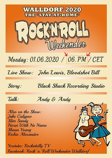 Jake Calypso Walldorf Rock'n'Roll Weekender