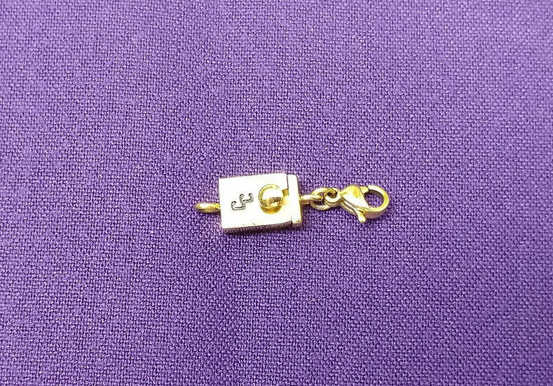 Single Clasp (Gold Plated)