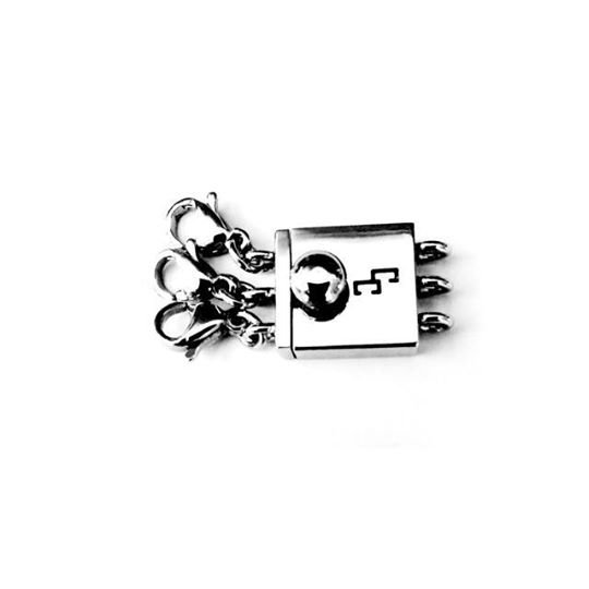 Triple Clasp (Stainless Steel)