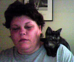 Lisa & baby Munchy