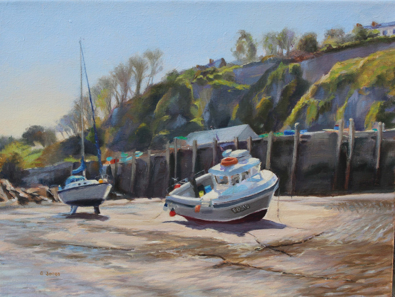 Harbour at low tide, Ilfracombe
