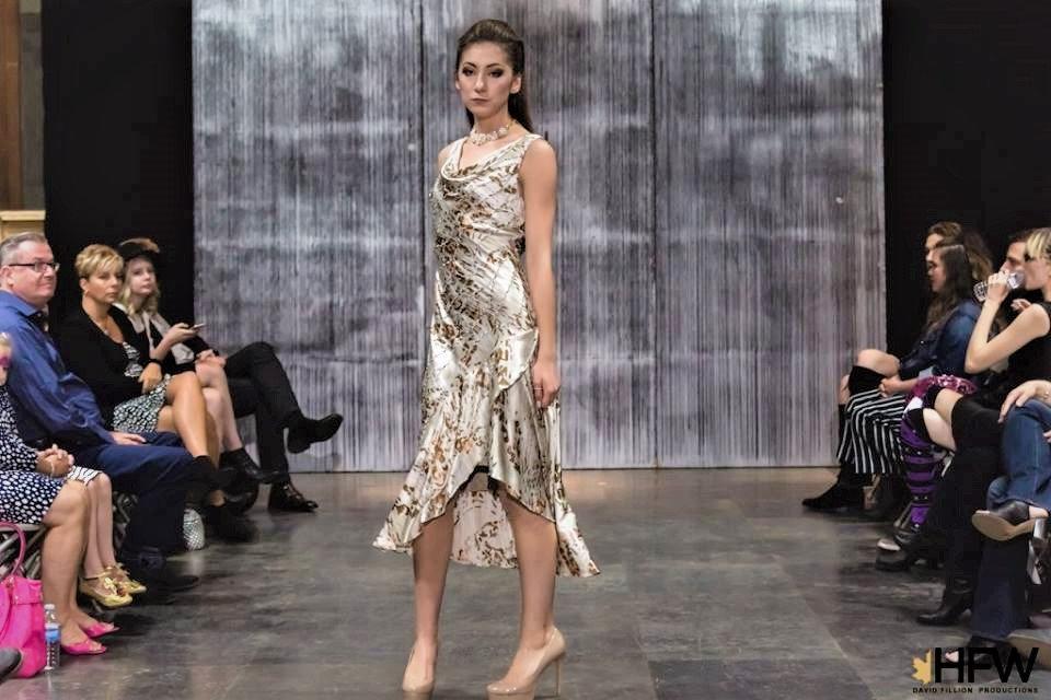 Creme satin sheath dress 1 HFW 2017.jpg