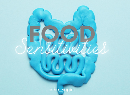 The in and out's of Food Sensitivities
