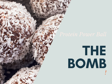 The Bomb - Super Food Power Balls Snack