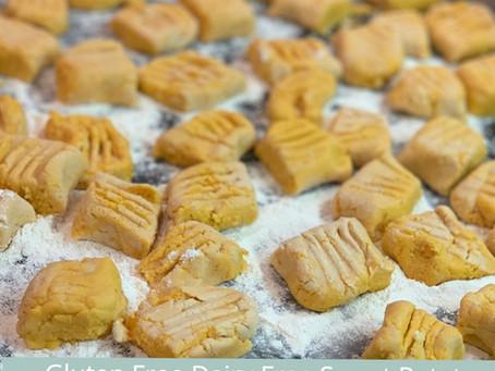 Quarantine Sweet Potato Gnocchi - Gluten Free and Vegan!