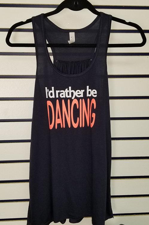 Rather Be Dancing Tank