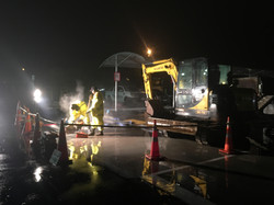 Commercial Night Shift Drainage