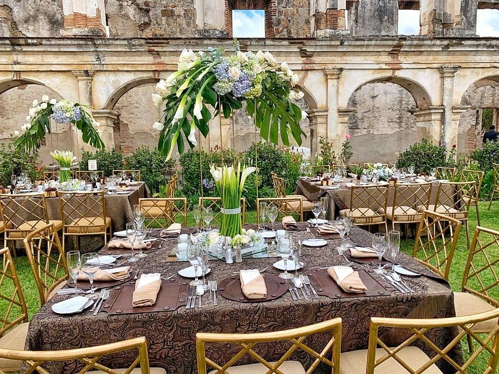 Diseño del Evento y Wedding Planner Plus