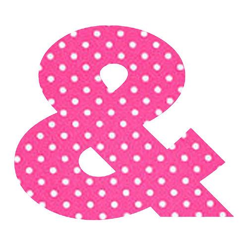 & - Pink Polka Dot