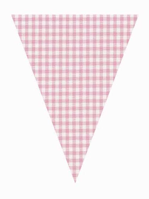 Flag -Pink Gingham
