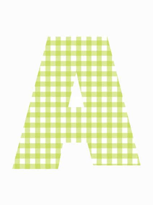 A - Green Gingham