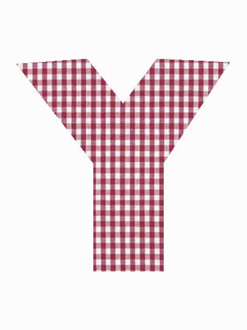 Y - Red Gingham