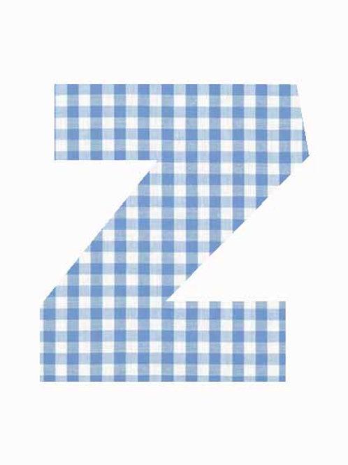 Z - Blue Gingham