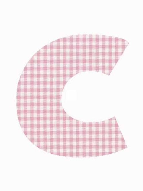C - Pink Gingham