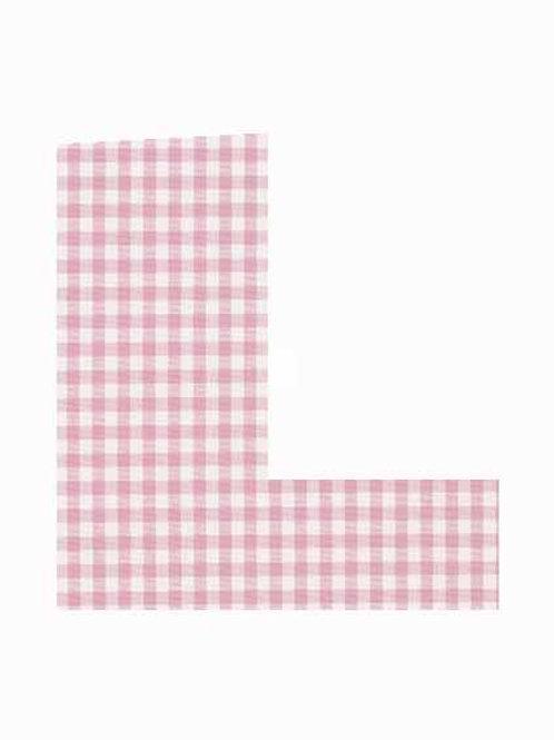 L - Pink Gingham