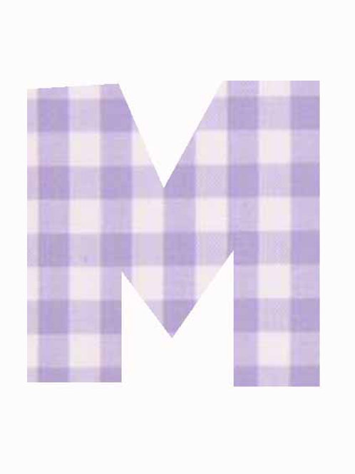 M - Lilac Gingham