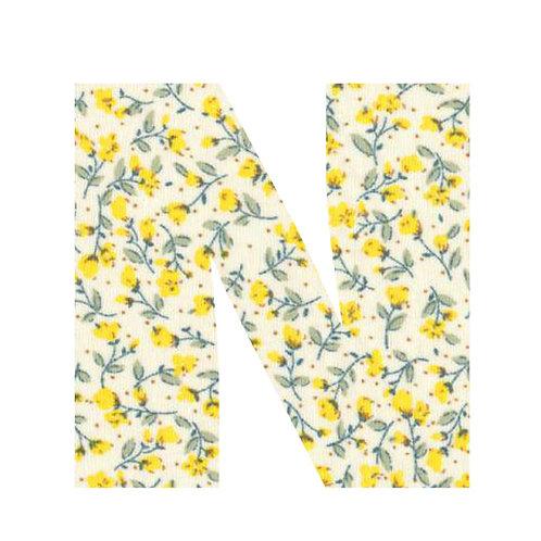 N - Yellow Flowers
