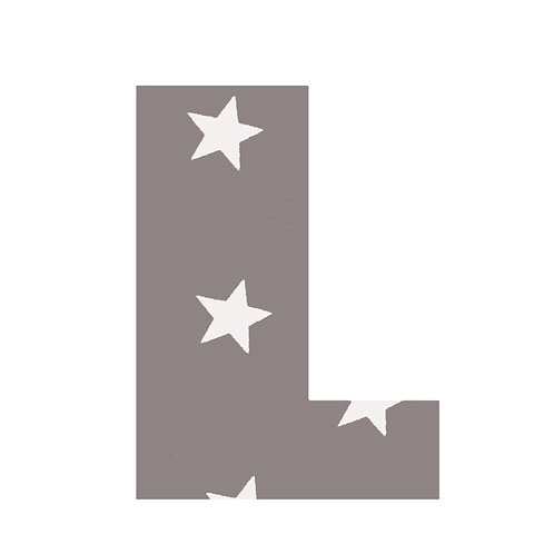 L - Grey Stars