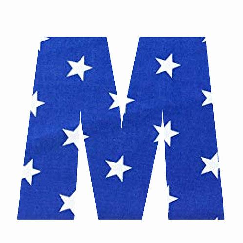 M - Dark Blue Star
