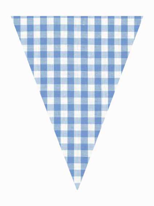 Flag - Blue Gingham