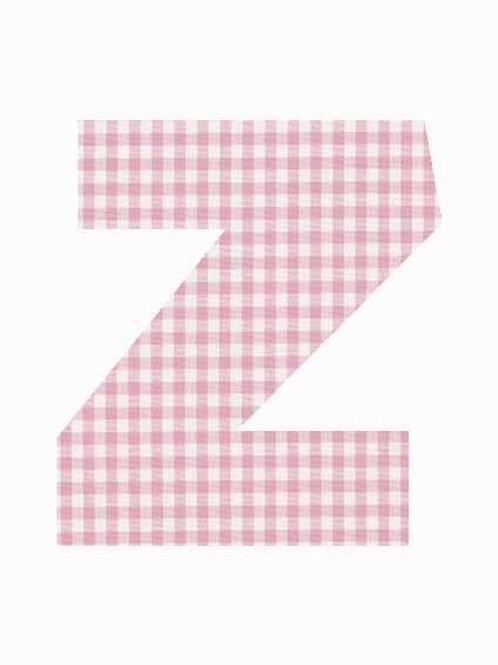 Z - Pink Gingham