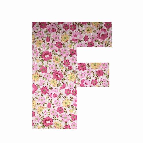 F - Pink Floral