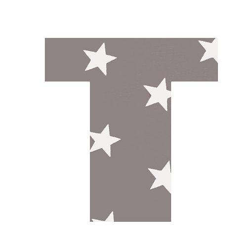 T - Grey Stars