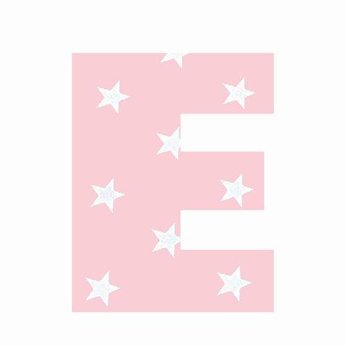 E - Pink Star
