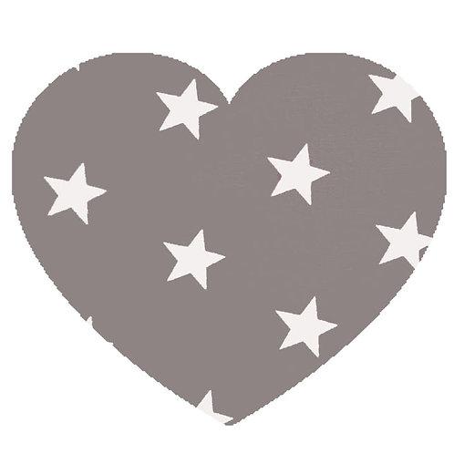 Heart - Grey Stars