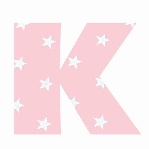 K - Pink Star