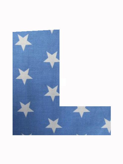 L - Blue Stars