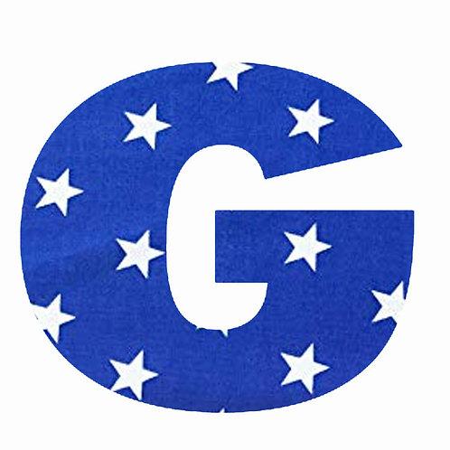 G - Dark Blue Star