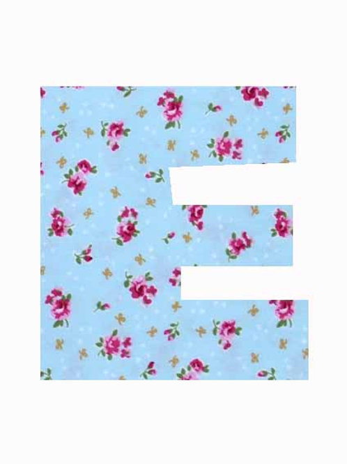 E - Blue Rose