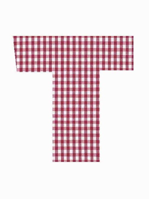 T - Red Gingham