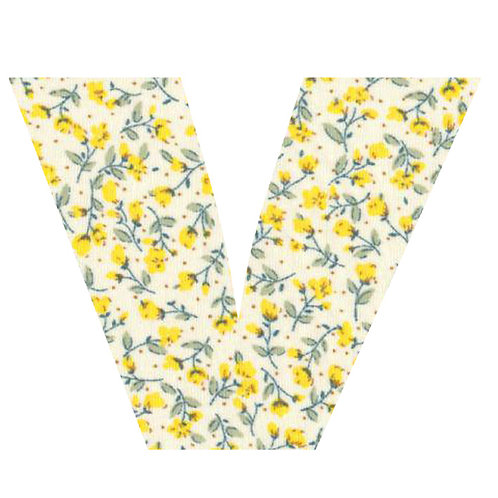 V - Yellow Flowers