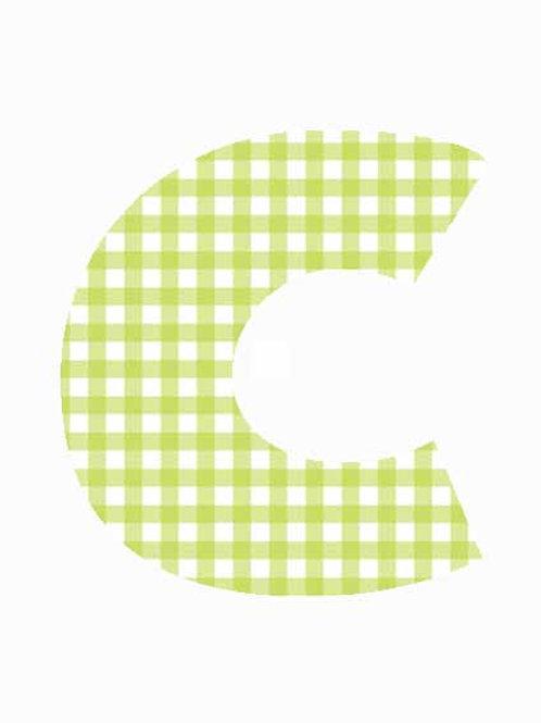 C - Green Gingham