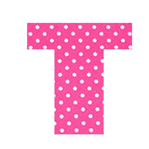 T - Pink Polka Dot