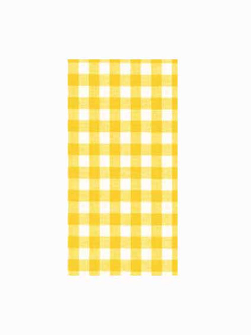 I - Yellow Gingham
