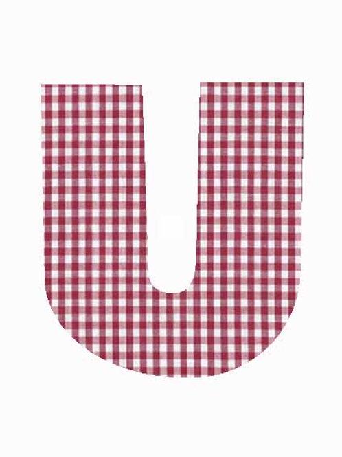 U - Red Gingham