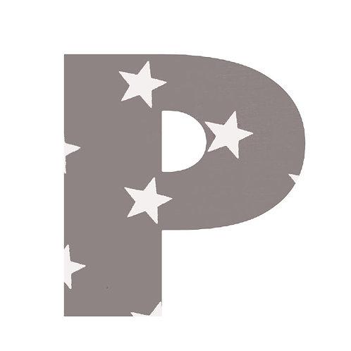 P - Grey Stars