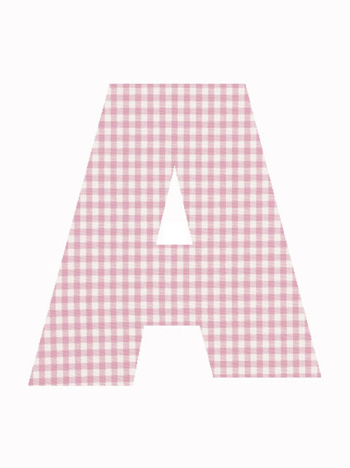 A - Pink Gingham