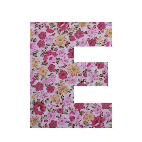 E - Pink Rose