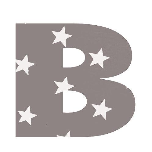 B - Grey Stars