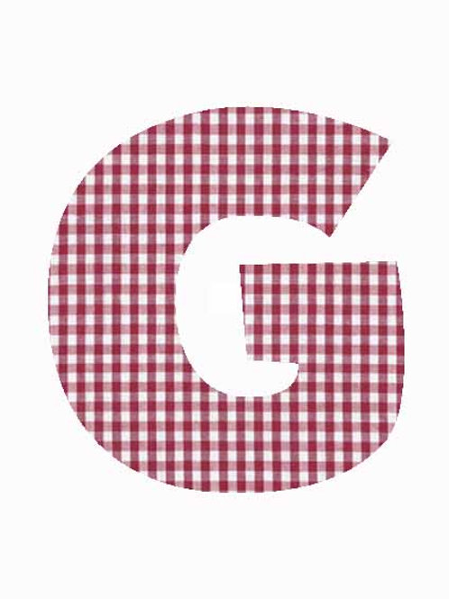 G - Red Gingham