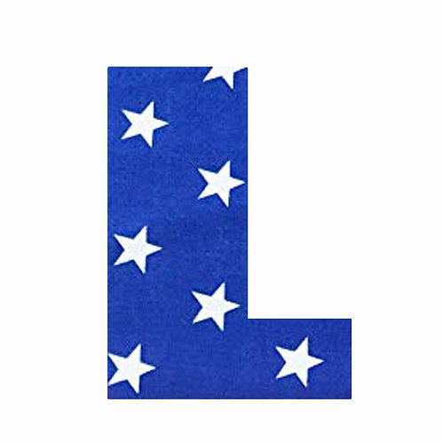 L - Dark Blue Star
