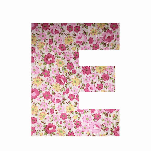 E - Pink Floral