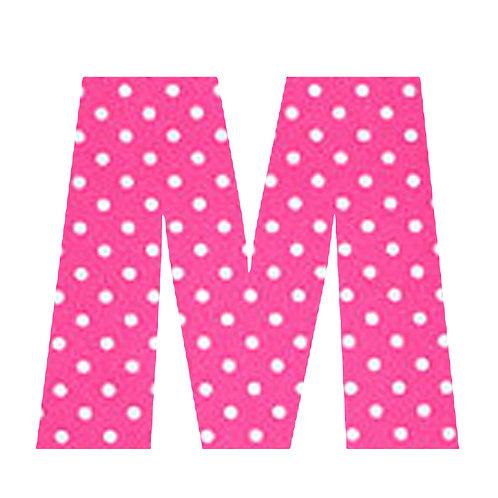 M - Pink Polka Dot