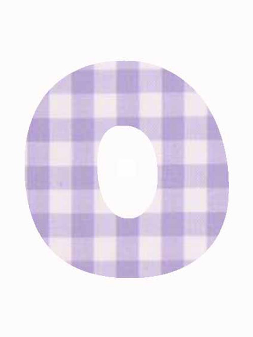 O - Lilac Gingham