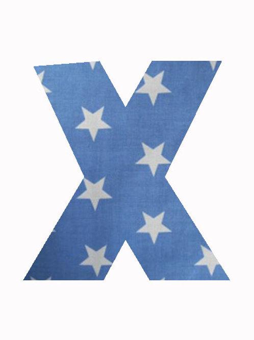 X - Blue Stars