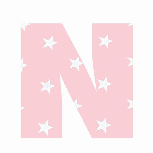 N - Pink Star